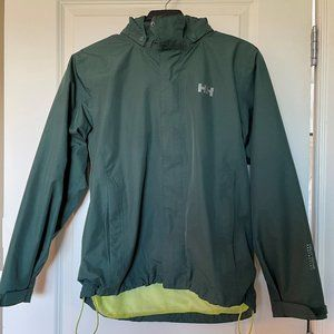Youth Helly Hansen Hooded Rain Jacket